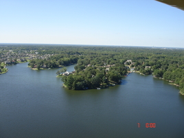 Garner Lake From The Air Sep 2011e